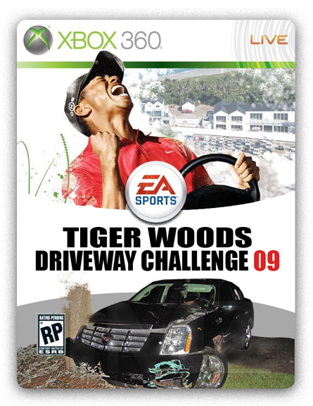 New from EA Sports... Tiger Woods Driveway Challenge!